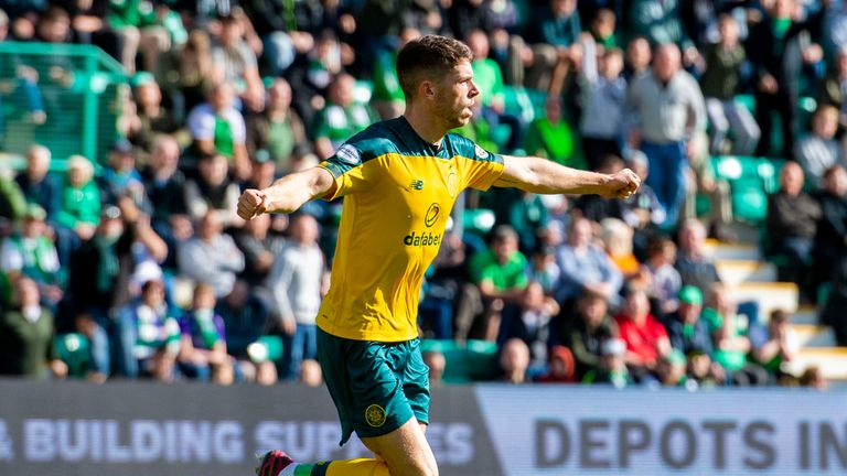 Ryan Christie equalised for Celtic