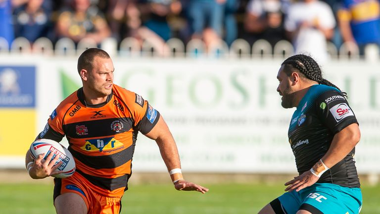 Super League play-offs: Cheyse Blair loving life at Castleford Tigers