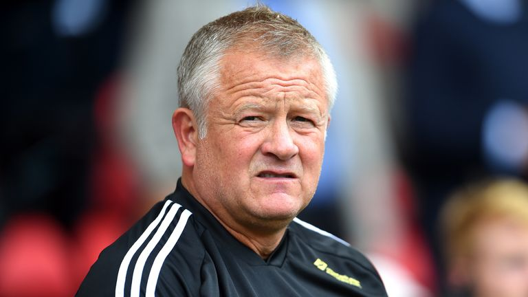 Chris Wilder has earned plaudits for the revival he has overseen at Sheffield United