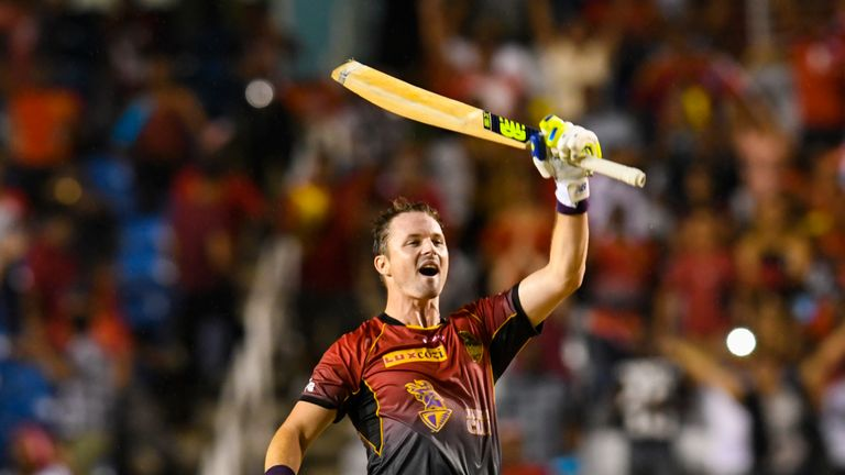 Colin Munro helped Trinbago Knight Riders to their second successive CPL success in 2018