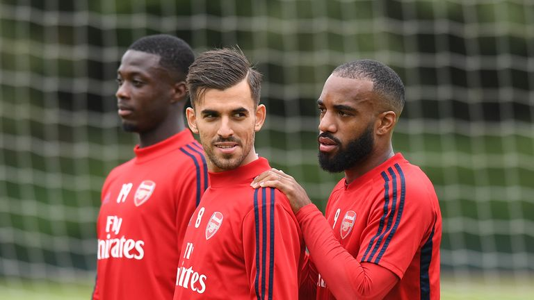 Dani Ceballos says Alexandre Lacazette's understanding of the game is critical to Arsenal's fortunes