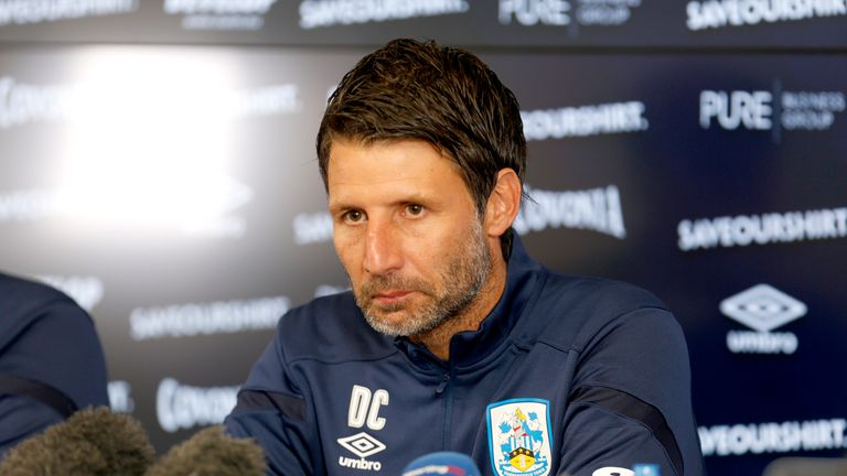 Danny Cowley lost his first game in charge of Huddersfield