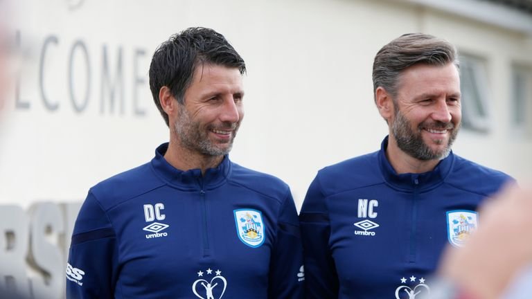 Danny and Nicky Cowley were announced as the new management team for Huddersfield Town earlier this week