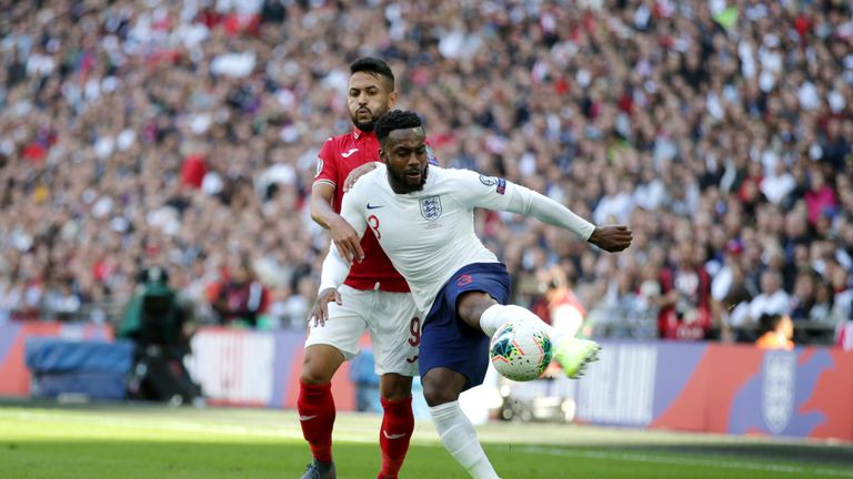 Danny Rose started for England against Bulgaria on Saturday