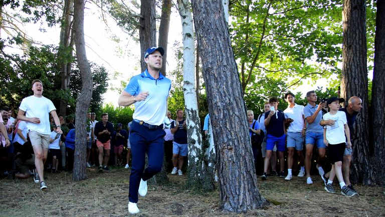 BMW PGA: Danny Willett's amazing escape from the trees explained by Andrew Coltart
