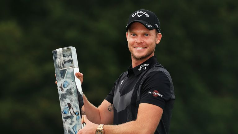 Danny Willett is defending champion at the BMW PGA Championship