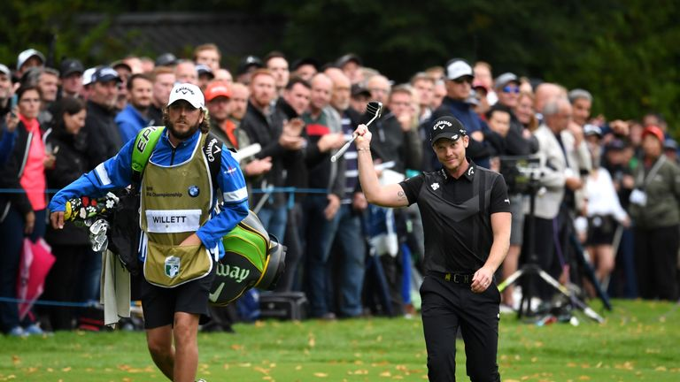 Danny Willett returned to the winner's circle at the BMW PGA Championship