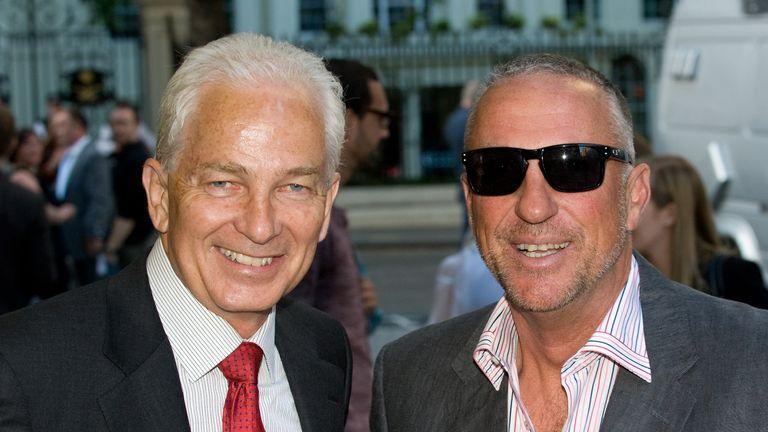 David Gower and Sir Ian Botham