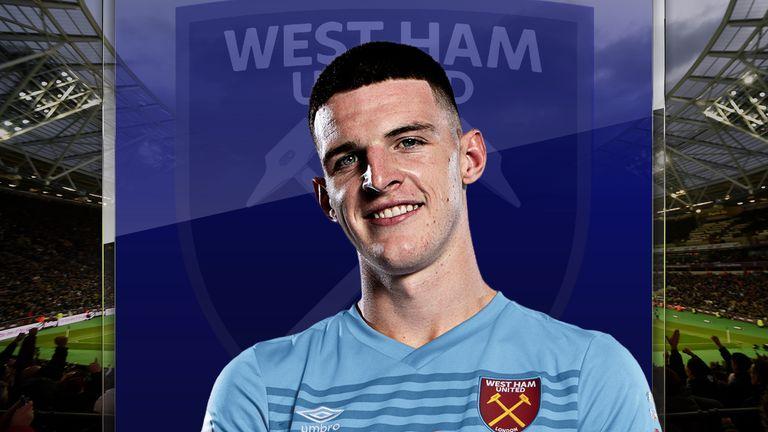 West Ham's Declan Rice