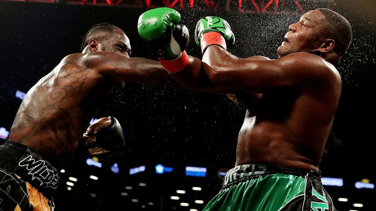 Wilder rallied to KO Ortiz