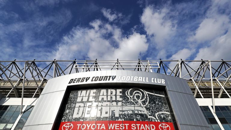 Derby have been charged by the EFL