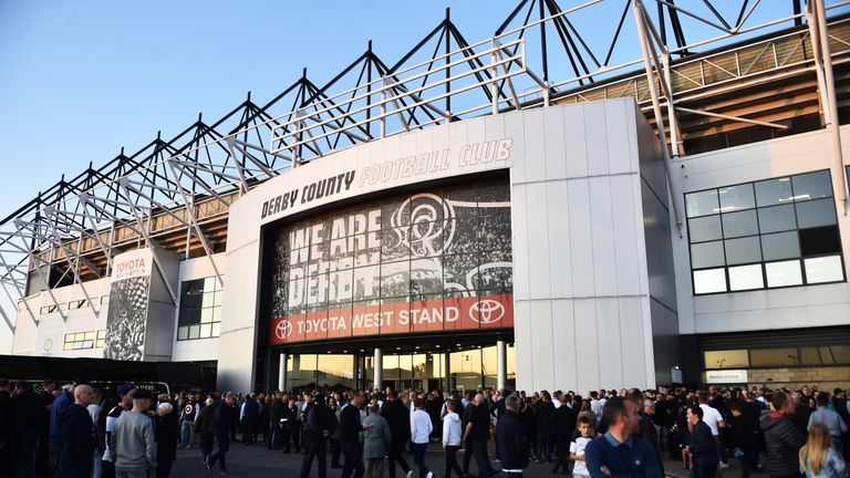 The sale of Derby County's Pride Park is subject to an independent investigation