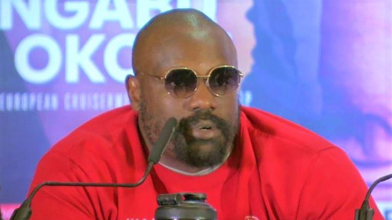 WBSS final Prograis-Taylor: Derek Chisora unhappy as chief support