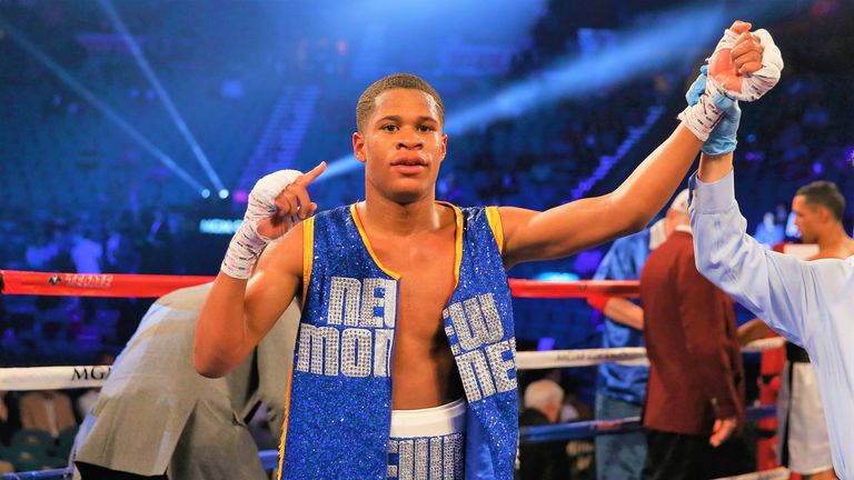 Devin Haney is one victory away from securing a world-title shot