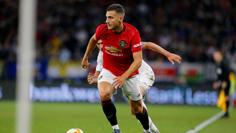 Diogo Dalot has been with Shanghai SIPG in China as he recovers from a hip problem