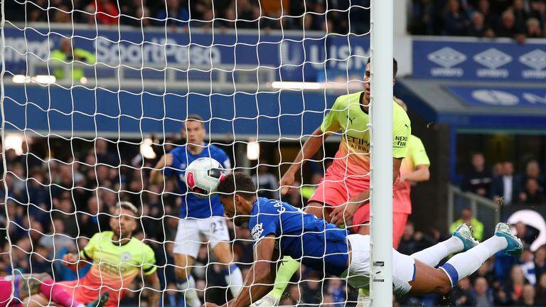 Dominic Calvert-Lewin equalises for Everton