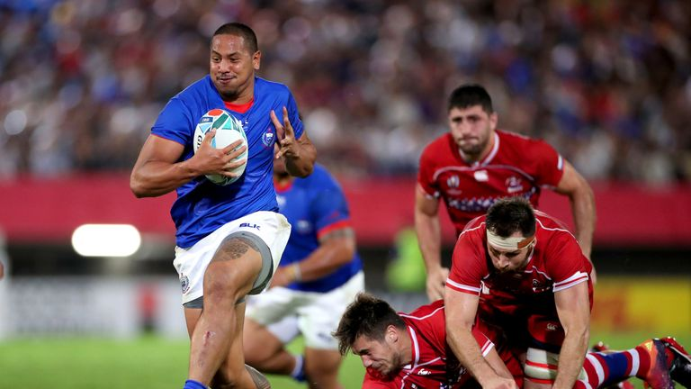 Samoa defeated Russia before suffering losses to Scotland and Japan