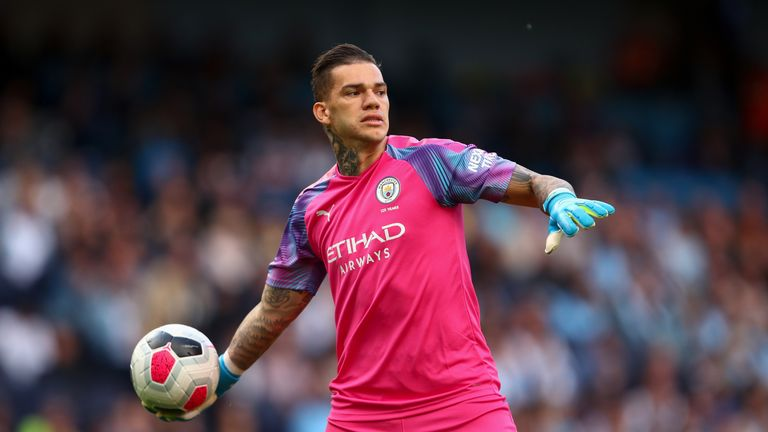 Ederson has proved a safe pair of hands for Manchester City