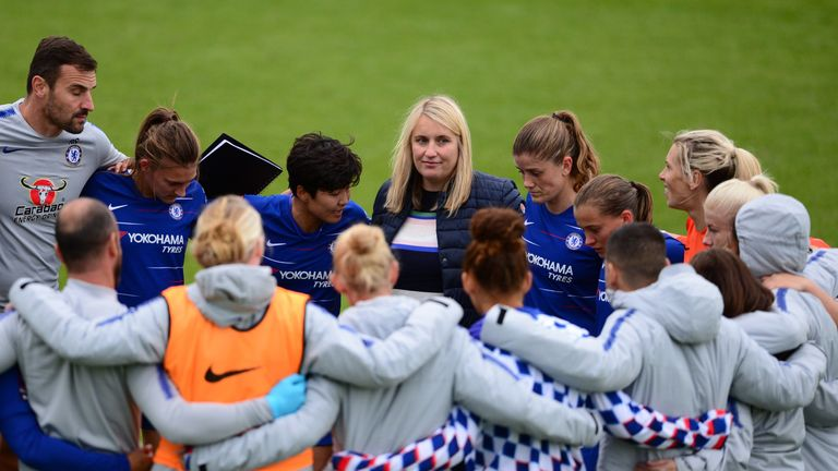 Emma Hayes' Chelsea are also among the favourites