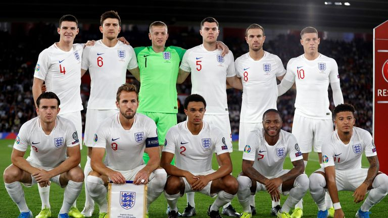 The England XI vs Kosovo