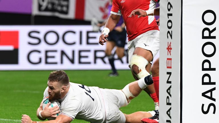 Luke Cowan-Dickie is a doubt for the France game
