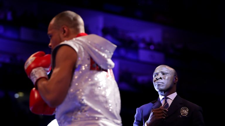 Eubank Jr and his father, the former world champion