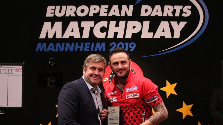 'The Rockstar' returned to the world's top 16 following his triumph in Mannheim