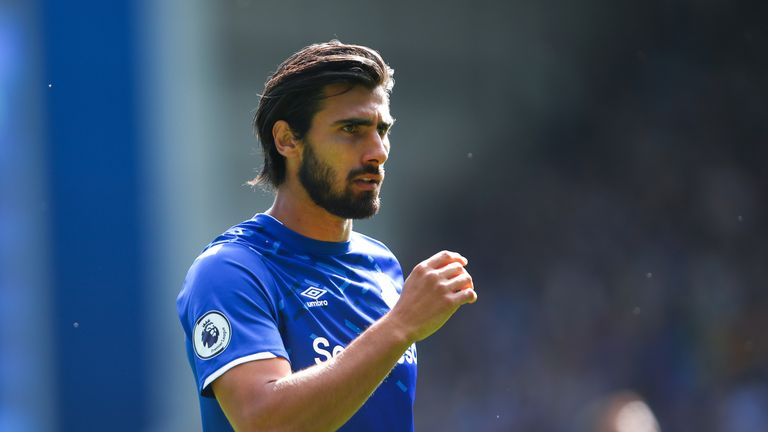 Portuguese midfielder Andre Gomes has missed the last two games with a rib injury
