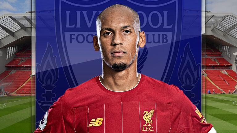 Liverpool midfielder Fabinho has been brilliant for Jurgen Klopp's side