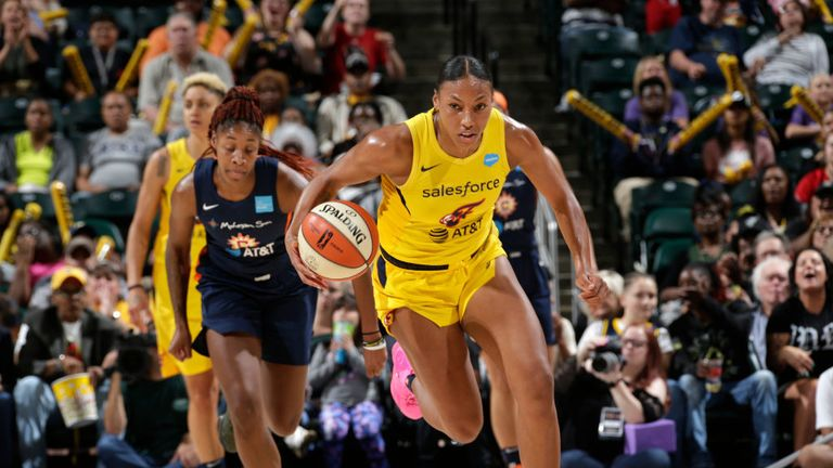 Indiana Fever Connecticut Sun in the WNBA
