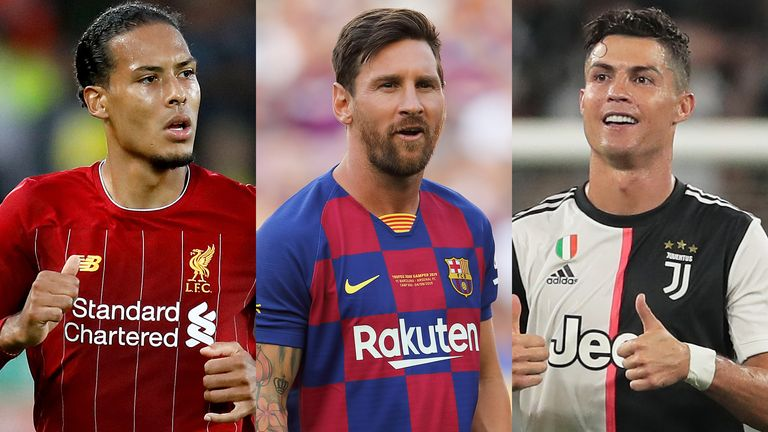 new style d926b 90ac5 Virgil van Dijk, Lionel Messi and Cristiano Ronaldo on FIFA ...