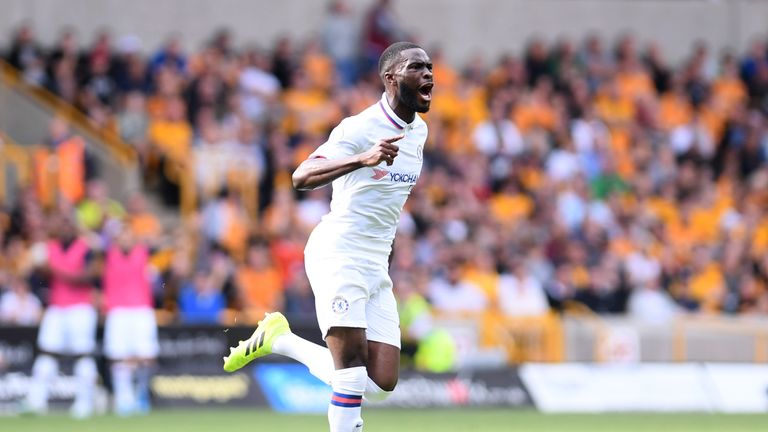 Fikayo Tomori scored his first Chelsea goal in the 5-2 win against Wolves in September