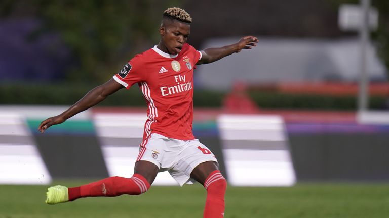 Manchester United have reportedly scouted Benfica's Florentino Luis