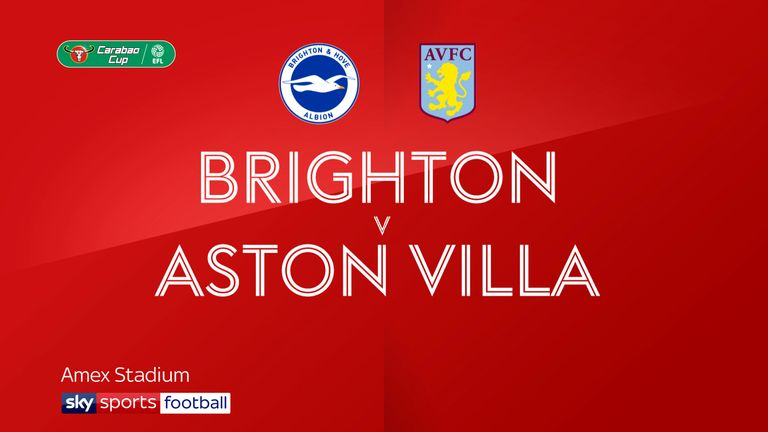 brighton v aston villa badge