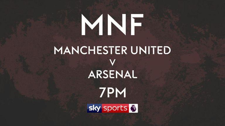 mnf manchester united v arsenal promo