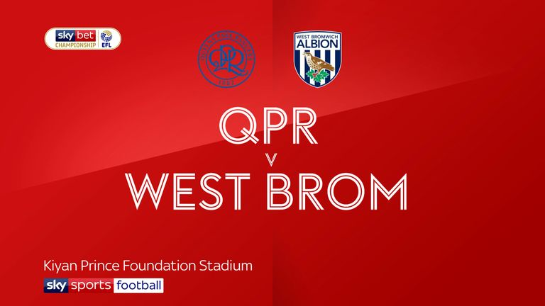 Highlights of the Sky Bet Championship match between QPR and West Brom