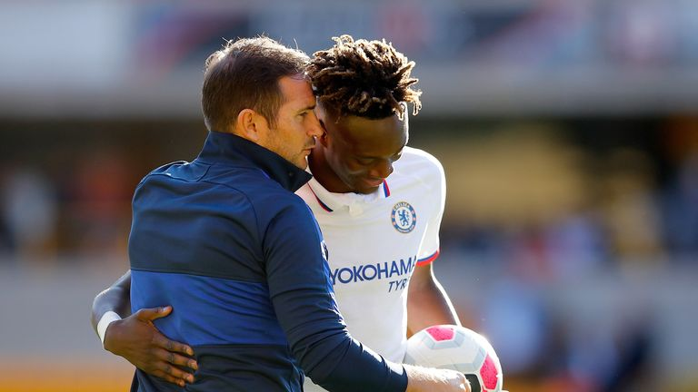 Frank Lampard praised the contribution of Tammy Abraham, as well as Chelsea's other youngsters