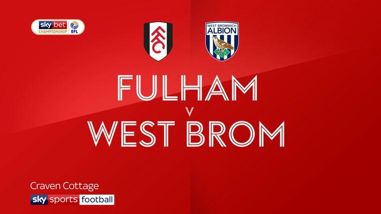 Fulham v West Brom badges