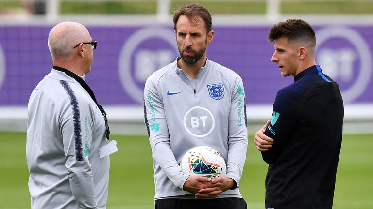 Gareth Southgate called up four uncapped players in his latest 23-man squad