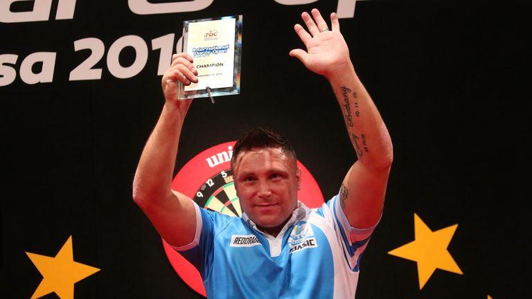 Gerwyn Price wins International Darts Open to claim third title of 2019