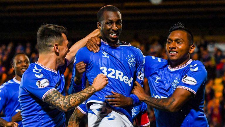 Glen Kamara's goal helped Rangers beat Livingtson in the quarter-finals