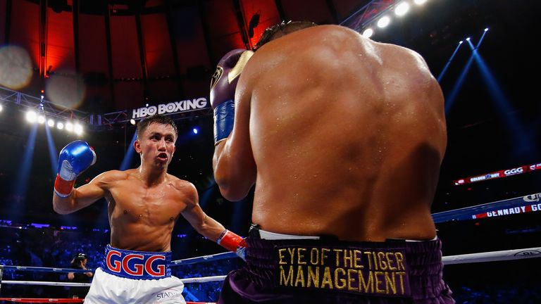 Golovkin is one of this era's most fearsome punchers