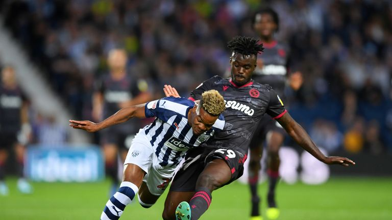 West Brom's Grady Diangana is hoping to earn a starting spot in Slaven Bilic's side for the trip to west London