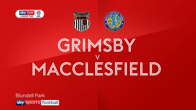 Grimsby 1-0 Macclesfield: Ethan Robson earns Mariners victory