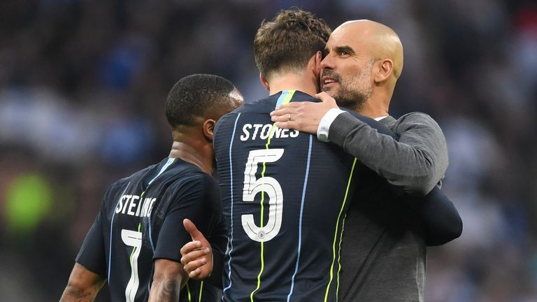 Guardiola has lost John Stones for at least five weeks
