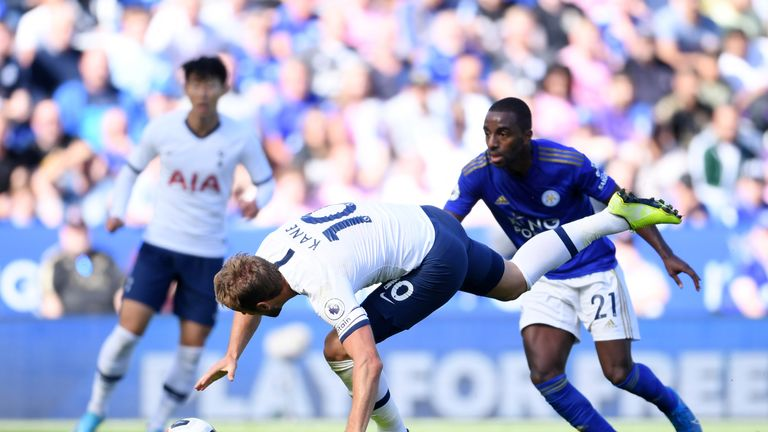 Harry Kane's cleverly improvised finish had given Tottenham the lead