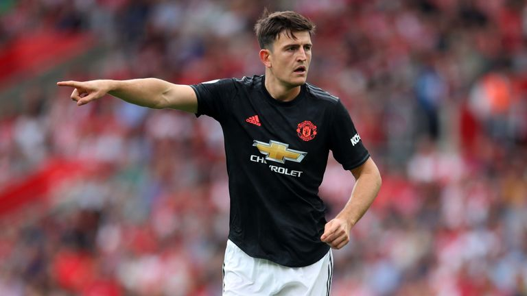 Manchester United defender Harry Maguire was a target for Man City in the summer