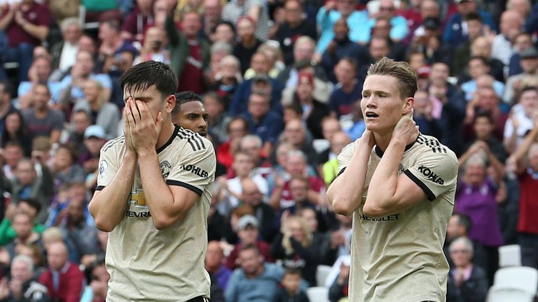 Manchester United succumbed to a 2-0 away defeat to West Ham