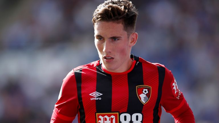 Harry Wilson on loan at Bournemouth