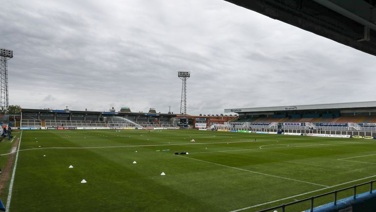 Hartlepool United have condemned the alleged incident at Victoria Park during their National League clash with Dover Athletic